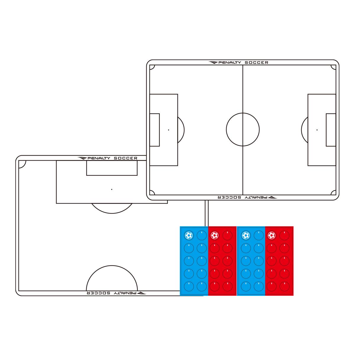 サッカーA4作戦盤